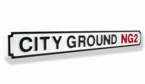 City Ground NG2 New Shape Clean White